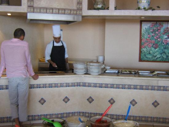 Posada Real Ixtapa: breakfast buffet