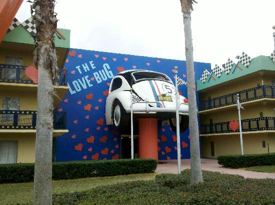 The Love Bug Picture Of Disney S All Star Movies Resort