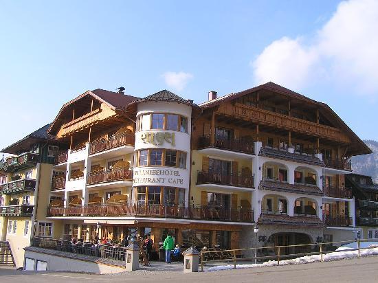 Wellnesshotel Engel : Hotel Engel von vorne