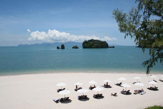 Tanjung Rhu Resort: View from balcony