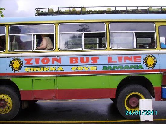 St. Ann's Bay, Jamaica: The Zion Bus