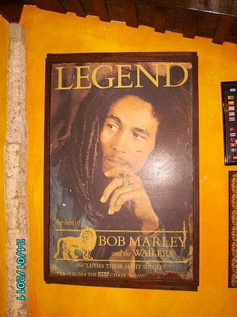 St. Ann's Bay, Giamaica: Bob Marley- The Legend!