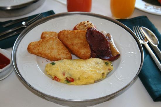 ตันจุง รู รีสอร์ท: Breakfast