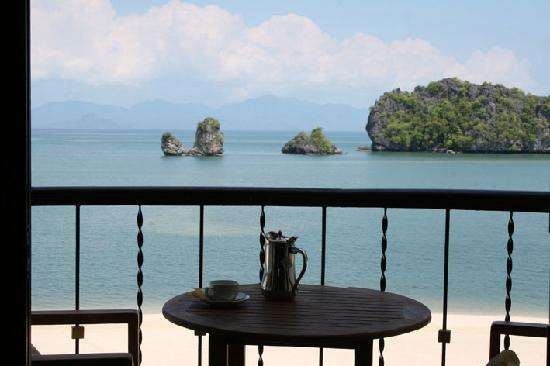 Tanjung Rhu Resort: Morning tea anyone?