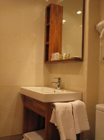 Hotel Ruta de la Plata de Asturias: Baño