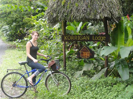 Korrigan Lodge: Free bike use was a great way to experience the area.
