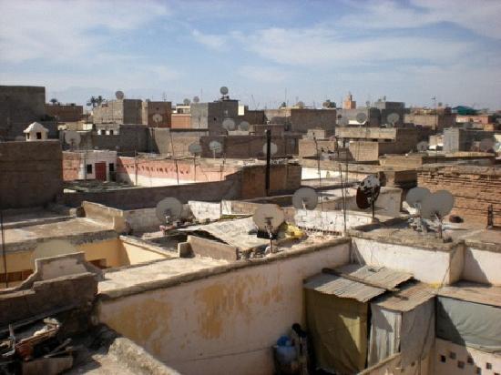 Riad Sukkham : vue sur le toits de la Medina