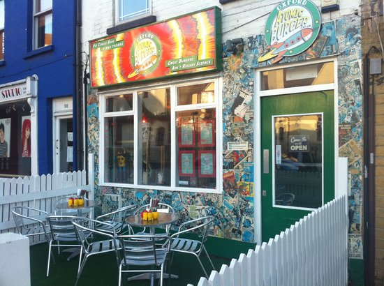 Photo of American Restaurant Atomic Burger at 92 Cowley Road, Oxford OX4 1JE, United Kingdom