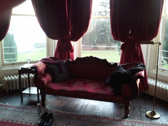 Castle Leslie Estate: View towards end of bed