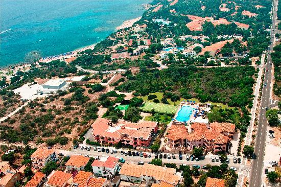 Parco Blu Club Hotel Resort : Vista aerea Parco Blu