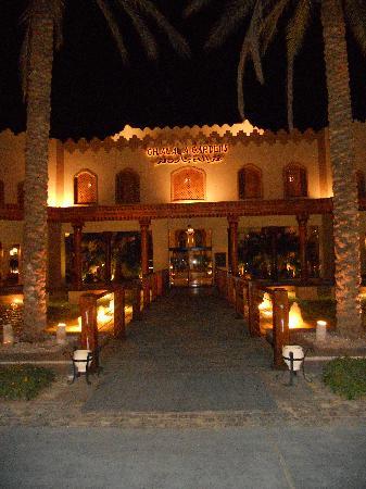 Ghazala Gardens Hotel: Front of hotel