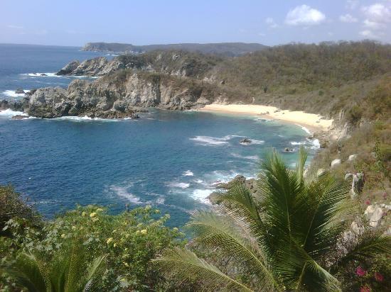 Villas Luz de Luna: Vista a playa