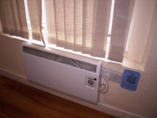 Times Hostels - College Street: O aquecimento (já velhinho)