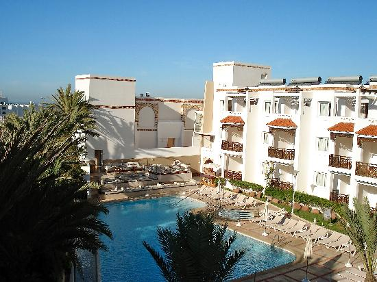 Hotel Timoulay & Spa Agadir: View from our balcony