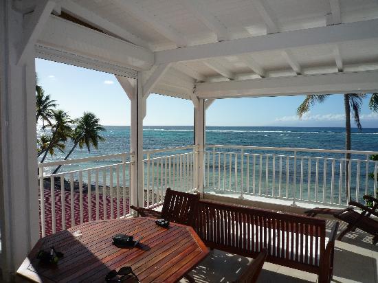 Coco Beach Resort: vue de la terrasse