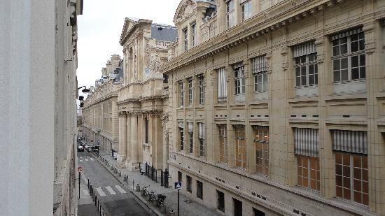 Hotel Design Sorbonne: View from room's window
