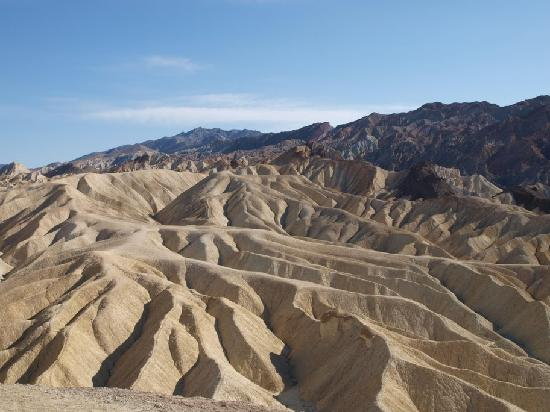 Death Valley National Park, Californië: Zabriskie Point, Death Valley NP