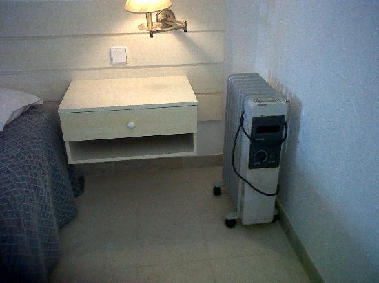 aquecedor a oleo ferrujento no quarto  Picture of O Hotel Golf Mar, Maceira