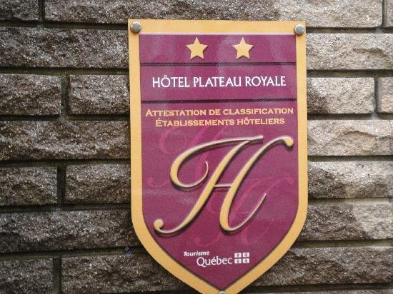 Hotel Plateau Royale: 2 étoîles