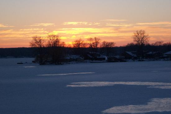 LaPorte, IN: Sunset- Pine Lake