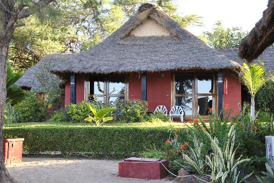 Lookea Royal Baobab: Notre case vue de la plage