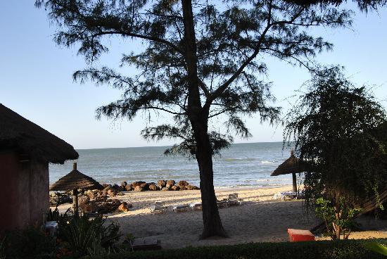 Lookea Royal Baobab: vue mer de notre case