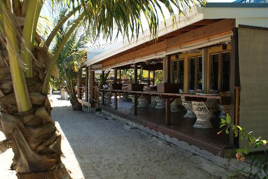 Maya Beach Hotel: Bistro from the Beach