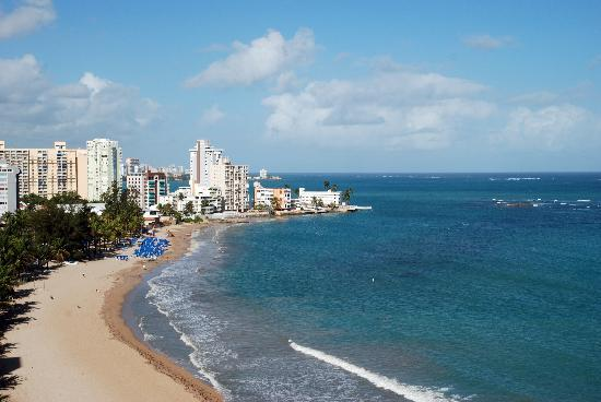 Isla Verde, Puerto Rico: View from my balcony