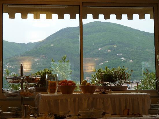 Hotel Firenze e Continentale La Spezia: Vista to the mountains