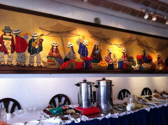 Hotel Rosario La Paz : breakfast needs to be improved