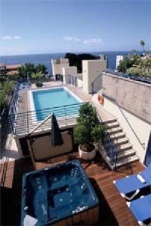 Terrace Mar Suite Hotel: O terraço