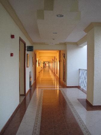 Hotel Riu Vallarta: hallway
