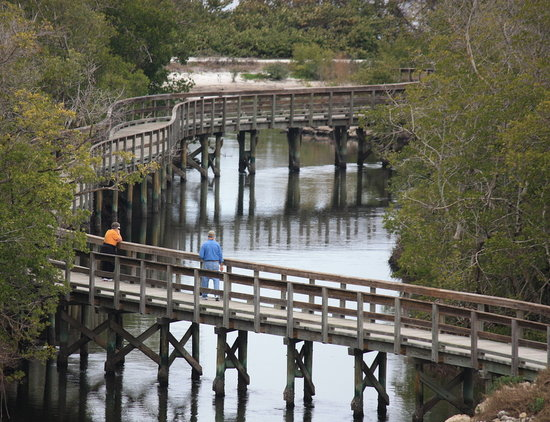 Bradenton, Floryda: One of the longest bridges at Robinson Preserve