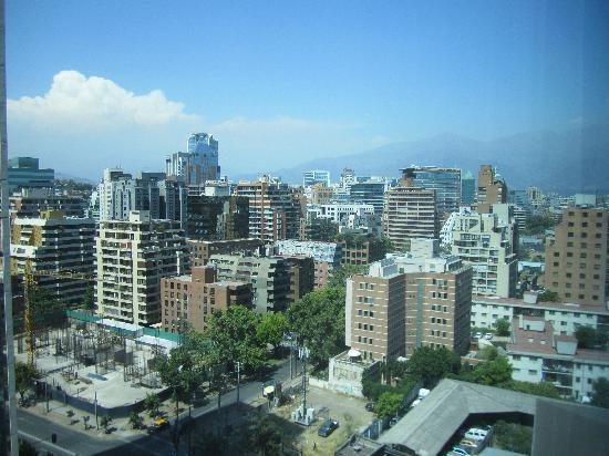 NH Collection Plaza Santiago: View from Hotel