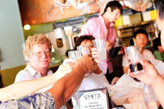 Six Taste: Sangria at Spitz Restaurant