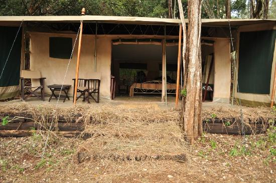 Nairobi Tented Camp: Our Tent