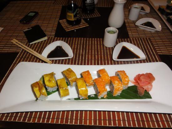 Cosmos 100 Hotel & Centro de Convenciones: Sushi @ Mei Kei Restaurant