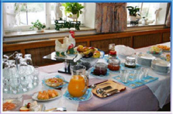 Bodensee-Pension Kleine Welt: Leckeres Frühstücksbuffet