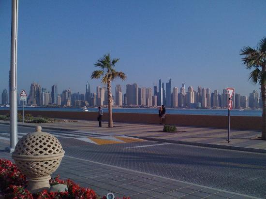 โรงแรมจูไมราซาบีลซาเรย์: View from front of hotel