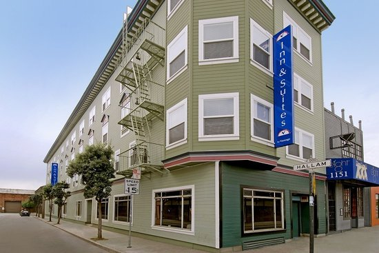 Americas Best Value Inn & Suites-SOMA: Front building