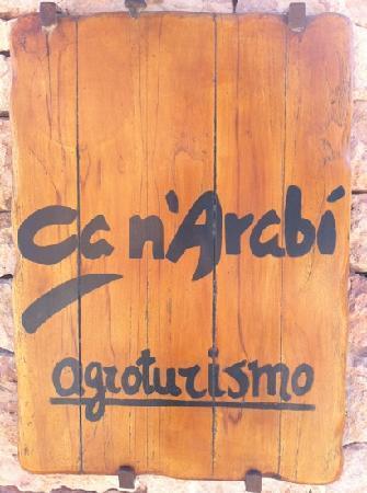 Agroturismo Ca n'Arabi : can'arabi entrance