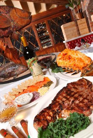 Charley 39 s steak house orlando menu prices restaurant for Fresh fish market tampa