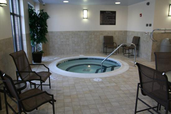 Hampton Inn Rochester Webster: Take a dip in our heated indoor pool and whirlpool.  Open 6a - 10p daily