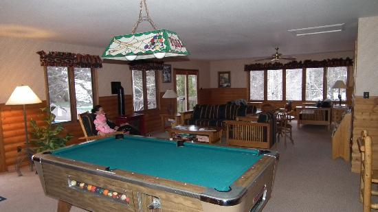 Sunnyside Knoll Resort: Recreation room
