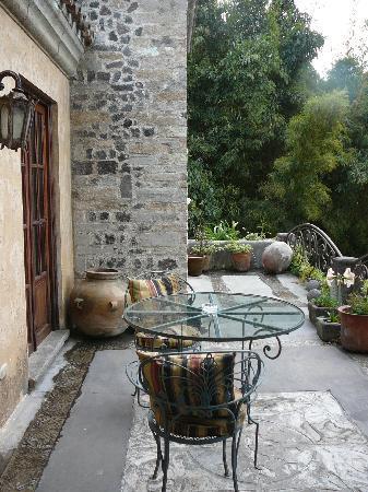 Meson Panza Verde : Terrace of suite 7