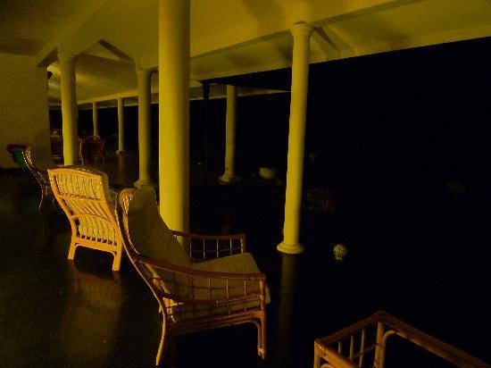 Bougan Villa Guest House: the excellent verandah