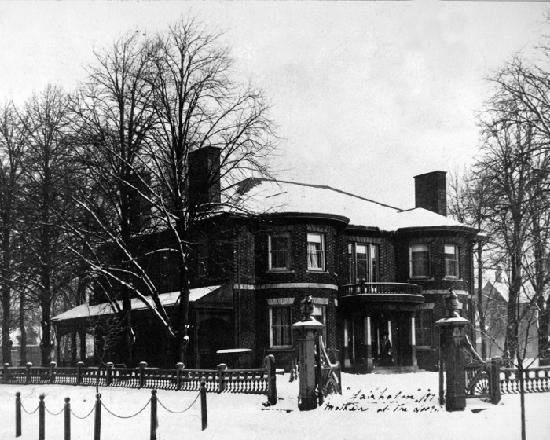 Fairholm National Historic Inn: Fairholm Inn in 1897