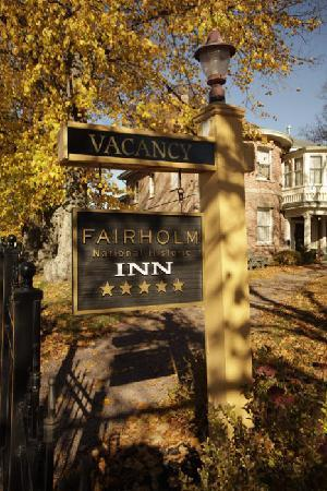 Fairholm National Historic Inn: Welcome to Fairholm!