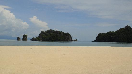 Tanjung Rhu Resort: la plage / mer