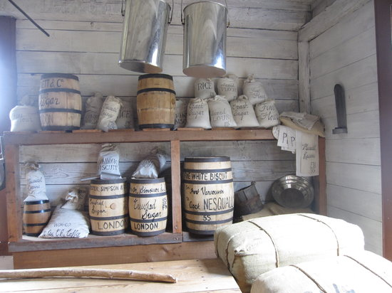 Fort Nisqually Living History Museum: trading post